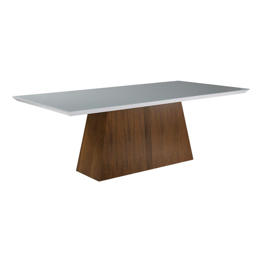mesa-de-jantar-madeira-macica-tampo-off-white-base-madeira-com-entalhe
