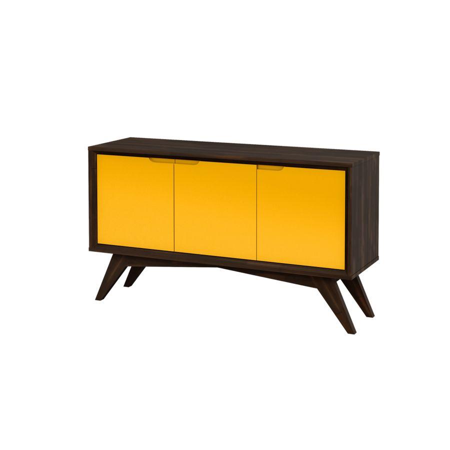 buffet-serafim-sala-de-jantar-estilo-retro-madeira-3-portas-amarelo-3