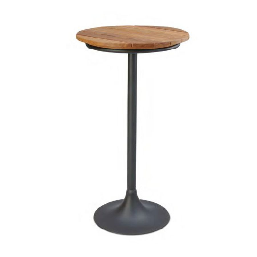 mesa-apoio-alta-Luminus-tampo-madeira-base-aco-decoracao-bar-bistro
