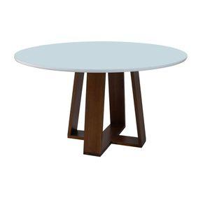 bianca-red.-7548-pinhao---tampo-light-branco.-mesa-de-jantar-branca-redonda