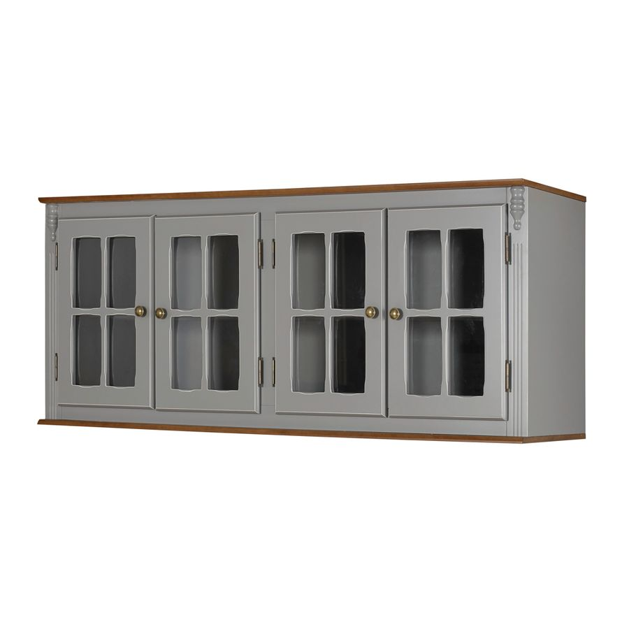 50702V-108C-024Barmario-madeira-cinza-escuro-4-portas-vidro
