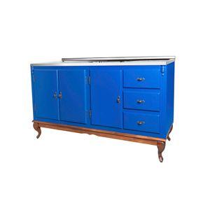 60611-060C-e-024B-armario-retro-azul-bic-madeira-macica-3-gavetas-3-portas-vintage-rustico