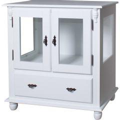 50312-011B-cristaleira-madeira-macica-rustica-branca-1-nicho-2-portas-vidro-1-gaveta