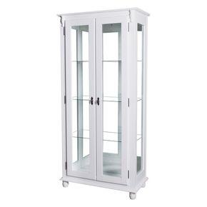 50353-011B-cristaleira-vidro-madeira-branca-4-nichos-2-portas-vidro