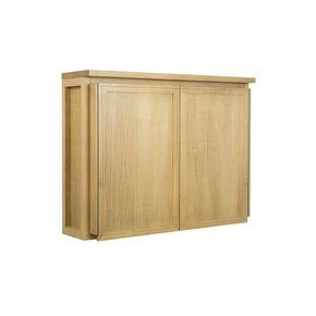 Armario-Aereo-Lenah-2-Portas-Mel--armario-aereo-mel-2-portas-madeira