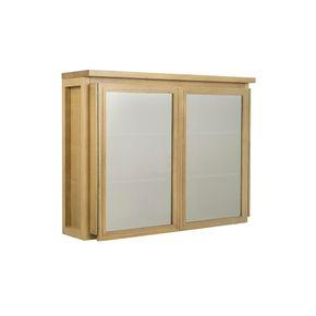 Armario-Aereo-Lenah-2-Portas-de-Vidro-Mel--armario-mel-aereo-2-portas-de-vidro
