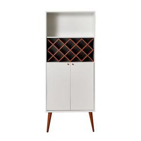 armario-Radiati-branco-com-1-nicho-2-portas-pes-em-madeira-frontal-com-adega