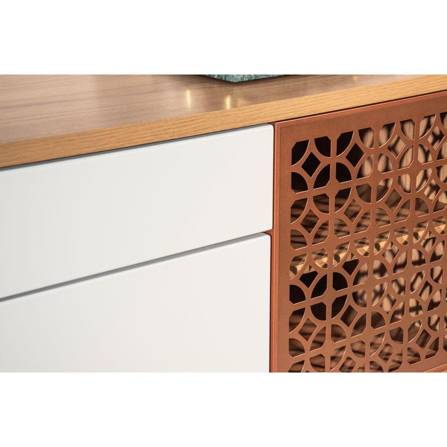 Buffet-Troin-madeira-branco-4-portas-detalhe-1-gaveta