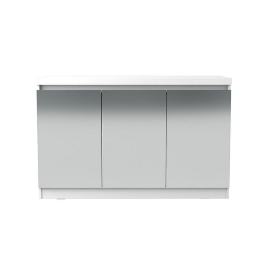 Buffet-Archie-120-branco-gloss-3-portas-com-espelho