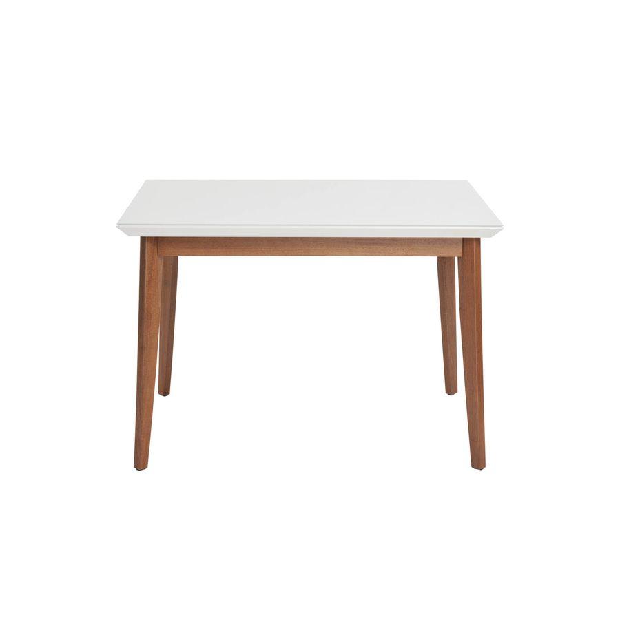 Mesa-de-jantar-Sonata-12-com-vidro-4mm-quadrada-4-lugares-branco-gloss-em-madeira
