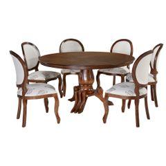 mesa-de-jantar-com-cadeiras-estofadas-de-madeira-moderna-sofisticada