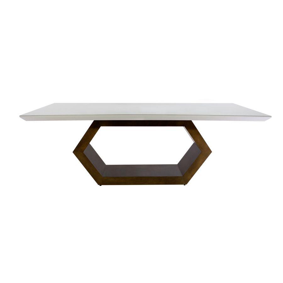 mesa-de-jantar-retangular-base-exagonal-sextavada-madeira-tampo-branco-com-vidro-alto-padrao-decoracao-01-1