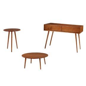 Conjunto-mesa-de-canto-mesa-centro-mesa-de-apoio-tulipa-cor-imbuia-pes-palito-madeira-macica