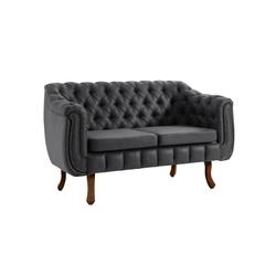 sofa-chesterfield-2-lugares-preto-pes-em-madeira-macica