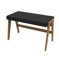 escrivaninha-tyron-preto-madeira-com-2-gavetas