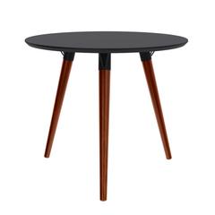 mesa-de-apoio-alta-redonda-marius-preta-com-pes-palito-madeira-macica
