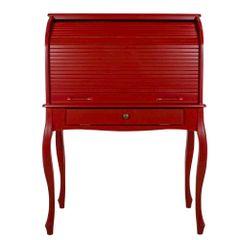 escrivaninha-retro-com-pes-ingles-e-gaveta-vermelho