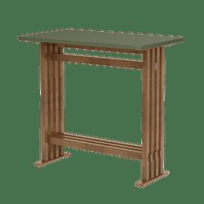 mesa-alta-madeira-verde