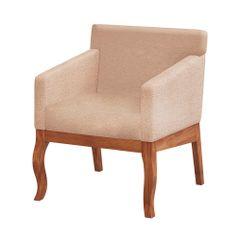 poltrona-italy-madeira-clara-marrom-tecido-bege-folhas-outono-4-pernas-encosto-decoracao-sala-quarto