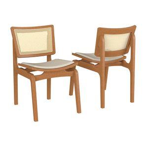 conjunto-cadeira-estofada-Blad-cor-cha-com-palinha
