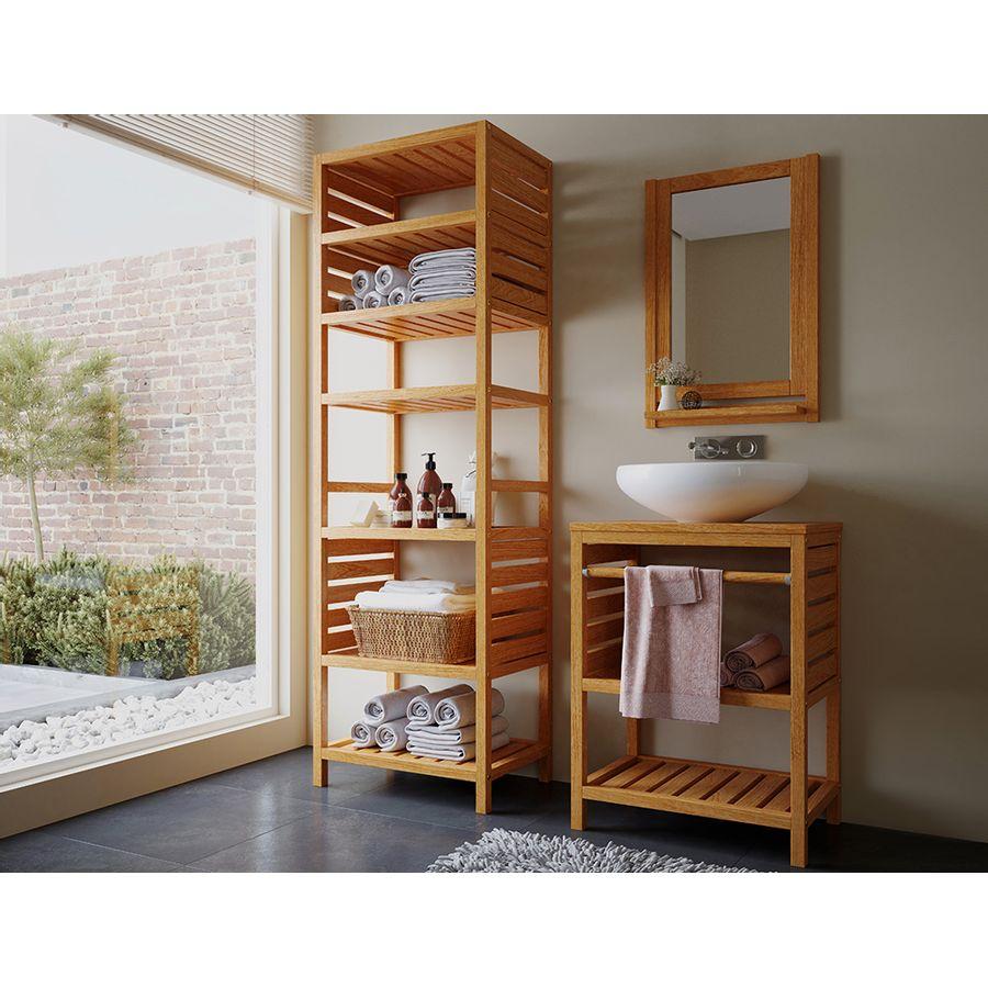 conjunto-aparador-espelho-estante-madeira