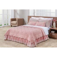 jogo-de-cama-11-pecas-florado-goiaba-quarto-casal-queen-king