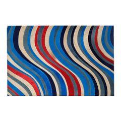 tapete-ondas-vemelho-azul-e--cor-rara