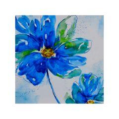 quadro-decorativo-flor-azul