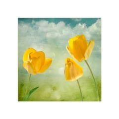 quadro-decorativo-tres-tulipas-amarelas